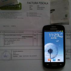 Samsung Galaxy S3 Mini - i8190 - Telefon mobil Samsung Galaxy S3 Mini, Negru, 8GB, Neblocat