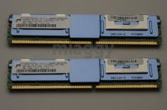 Kit memorie 8GB (2 x 4GB) PC2-5300F 667 FB-DIMM (fully buffered fbdimm) MacPro foto