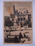 Carte  postala (Vedere ) ORADEA - Piata  maresal  Malinovski, Circulata, Fotografie