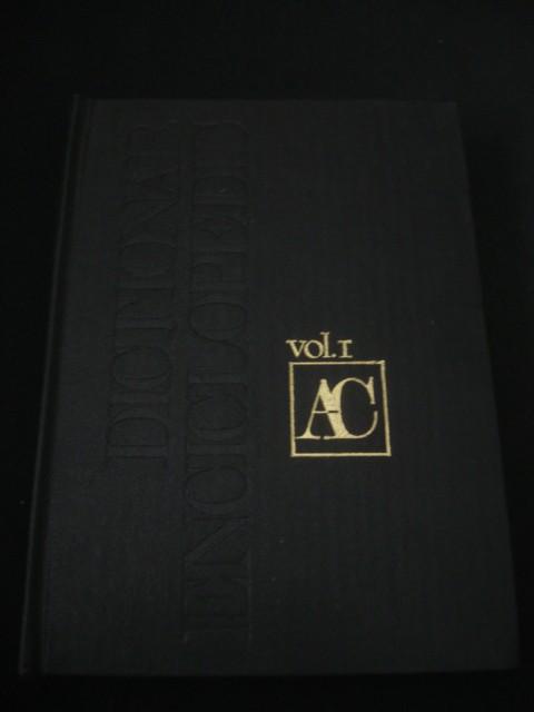 DICTIONAR ENCICLOPEDIC Volumul A-C {1993}