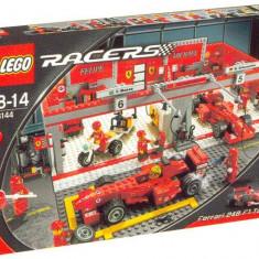 LEGO 8144 Ferrari 248 Team (editia Michael Schumacher) - LEGO Racers