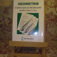 Nicolae Dragomir - Geometrie - Exercitii si probleme pentru clasa a X a