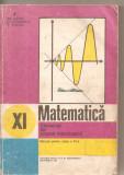 (C4703) ELEMENTE DE ANALIZA MATEMATICA, MANUAL PENTRU CLASA A XI-A, AUTORI: GH. GUSSI, O. STANASILA, T. STOICA, EDP, 1981