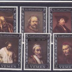 Pictura, Rubens, Yemen. - Timbre straine, Asia