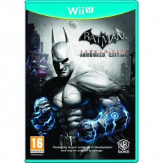 PE COMANDA Batman Arkham City Armoured Edition WII U - Jocuri WII U, Role playing, 16+, Single player
