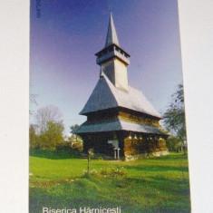 Cartela telefonica - ARTA - RELIGIE - BISERICA DE LEMN MARAMURES - HARNICESTI - SUGATAG - 2003 - 2+1 gratis pt produse la pret fix - RBK4380 - Carte Postala Maramures dupa 1918