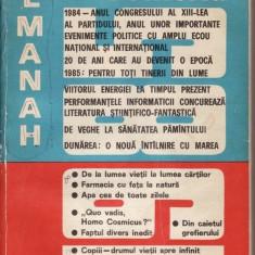ALMANAH SCANTEIA 1985 * 6