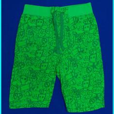 NOI, DE FIRMA _ Pantaloni scurti, bumbac tip doc, H&M _ baieti | 4 - 5 ani | 110, Marime: Alta, Culoare: Verde