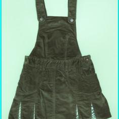 Sarafan din catifea, clini bumbac, impecabil, NKY → fete | 9—10 ani | 134—140 cm