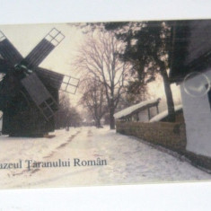 Cartela telefonica - ARTA - ETNOGRAFIE - MUZEUL TARANULUI ROMAN - MOARA - 2002 - 2+1 gratis pt produse la pret fix - RBK4416 - Cartela telefonica romaneasca