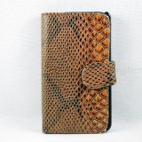 Livrare gratuita!!! Husa tip wallet (portofel) pentru SAMSUNG GALAXY S2 Plus I9105 + laveta + stylus, inchidere magnetica, maro - Husa Telefon