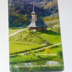 Cartela telefonica - ARTA - RELIGIE - BISERICA DE LEMN MARAMURES - NASTEREA - BARSANA - 2003 - 2+1 gratis pt produse la pret fix - RBK4381 - Carte Postala Maramures dupa 1918
