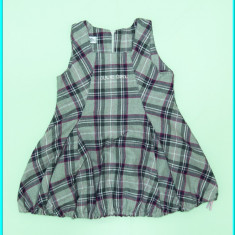 FRUMOS _ Sarafan din stofa fina, JULIE GIRL _ fetite | 24 - 30 luni | 92 - 98 cm - Sarafan copii