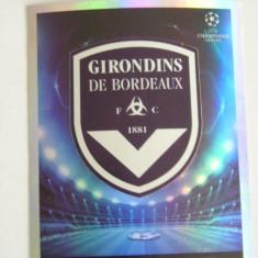 POZE/STICKERE PANINI - NR 39 - GIRONDINS DE BORDEAUX - UEFA CH LEAGUE - 2009-10