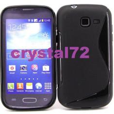 Livrare gratuita! Husa termorezistenta silicon - gel TPU pentru Samsung Galaxy Trend Lite S7390 (Samsung Galaxy Fresh) + folie ecran + laveta - Husa Telefon