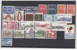 Lot timbre tarile nordice Norvegia,Suedia ,Danemarca,Finlanda neobliterate, Nestampilat