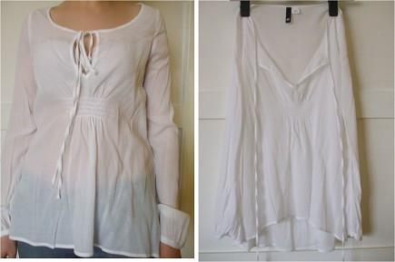 Bluza transparenta H & M marimea M