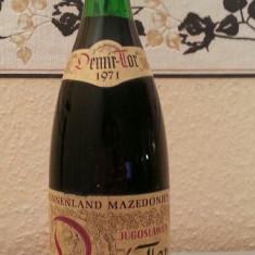 Vin vechi de colectie Demir -Tor 1971 - Vinde Colectie, Rosu