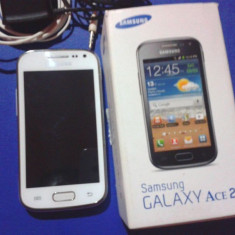 Schimb Samsung Galaxy Ace 2 cu S2 - Telefon mobil Samsung Galaxy Ace 2, Alb