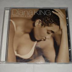 Vand cd DIANA KING-Think like a girl, Columbia