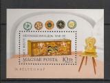 Ungaria.1981 Ziua marcii postale:Lada de zestre-Bl.  SU.277