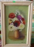 Tablou - Flori - Hlinka G. '91 Dimensiuni 40x24 - Ulei pe panza