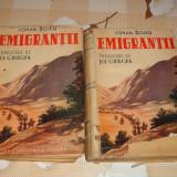 Johan Bojer - Emigrantii - trad. Jul Giurgea - 2 volume - interbelica - Carte veche