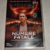 Vand dvd original cu filmul NUMERE FATALE