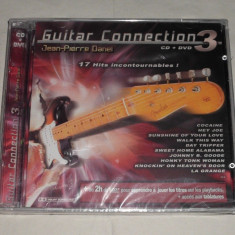 Vand cd+dvd sigilat JEAN-PIERRE DANEL-Guitar connection 3 - Muzica Ambientala warner