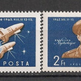 Ungaria.1962 Cosmonautica-Vostok 3 si 4 AB.31.1 - Timbre straine