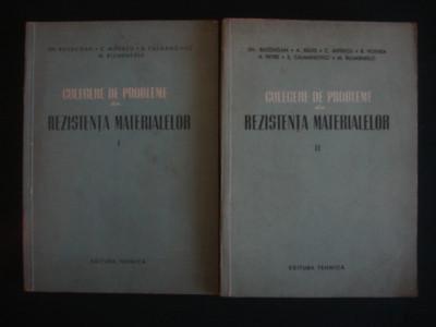 GH. BUZDUGAN, C. MITESCU, S. CALMANOVICI, M. BLUMENFELD - CULEGERE DE PROBLEME DIN REZISTENTA MATERIALELOR  2 volume foto