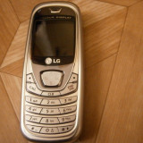 LG B2050 - 59 lei - Telefon LG, Argintiu, Nu se aplica, Neblocat, Fara procesor