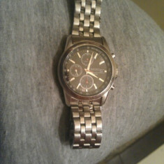 Vand ceas seiko cronograph - Ceas barbatesc Seiko, Elegant, Quartz, Inox, Cronograf