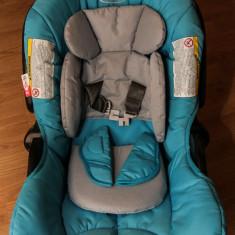 Scaun auto Junior Baby Graco - Carucior copii 2 in 1 Graco, 3-6 ani, Albastru, Maner reversibil