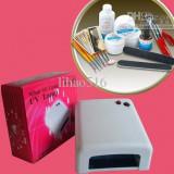 Lampa 36 W SET UNGHII FALSE CU GEL UV PT MANICHIURA - Lampa uv unghii BeautyUkCosmetics
