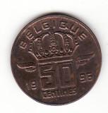 Belgia 50 centimes 1996, text francez -  KM#148.1 Type C, Europa