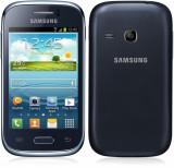 Samsung galaxy young S6310, 4GB, Alb, Orange