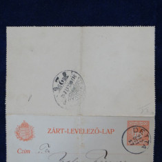 Carte postala militara-Intreg postal - Circulat Temesvar - Timisoara - Deta 1913