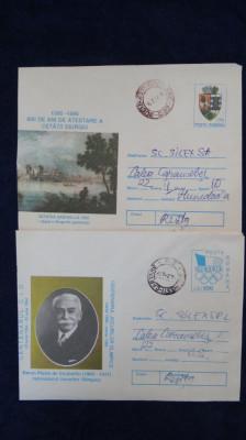 2 Intreguri postale circulate foto