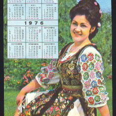 Actori ai teatrului, cintecului si filmului romanesc*ELENA MERISOREANU*Calendar1976