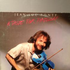 JEAN LUC PONTY - A TASTE FOR PASSION (1979 /WARNER BROS) - DISC VINIL/VINYL/JAZZ - Muzica Rock
