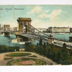 Carte postala - ARHITECTURA - Budapesta - circulata 1918 - Ungaria - 2+1 gratis toate produsele la pret fix - RBK4056, Europa, Printata