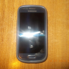 Vand Samsung Galaxy S3 Mini 8GB Metallic Blue - Telefon mobil Samsung Galaxy S3 Mini, Albastru, Vodafone