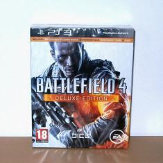 Joc Playstation PS3 - Battlefield 4 Deluxe Edition, de colectie, nou, sigilat - Battlefield 4 PS3 Ea Games, Shooting