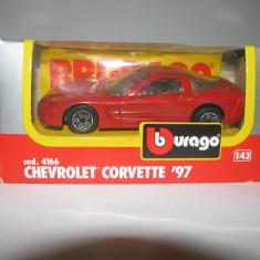 Chevrolet Corvette '97 BBurago 1:43 cod.4166 - Macheta auto