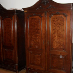 Vand dormitor din anul 1895 - Dormitor complet