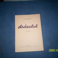 ARDEALUL AL NEGURA - Carte veche