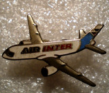 I.539 INSIGNA PIN AVIATIE FRANTA AIR INTER 25mm email, Europa