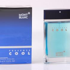 Parfum Original Men Mont Blanc Presence Cool 75 ml EDT 170 Ron TESTER - Parfum barbati Mont Blanc, Apa de toaleta