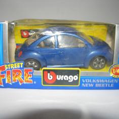 Volkswagen New Bettle BBURAGO 1:43 Street Fire - Macheta auto